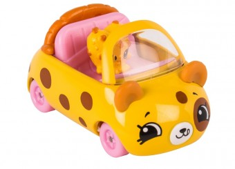 Set de joaca Mini Masinuta Shopkins Cutie Cars Choc Chip Racer