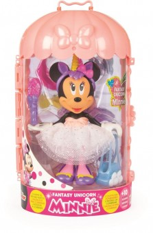 Papusa Minnie Mouse Fashion Dolls cu accesorii - Fantasy Unicorn