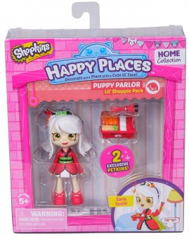 Set de joaca papusica SHOPKINS HAPPY PLACES SARA SUSHI