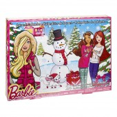 BARBIE ADVENT CALNEDAR Mattel