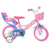 Bicicleta copii 12 inch - Purcelusa Peppa