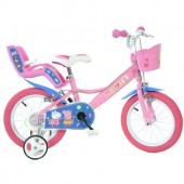 Bicicleta copii 14 inch - Purcelusa Peppa