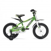 Bicicleta copii Kawasaki KBX 14 green by Merida Italy