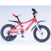 Bicicleta copii Kawasaki KBX red 14 Ironway