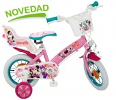 Bicicleta Disney Minnie Mouse Club House, fete