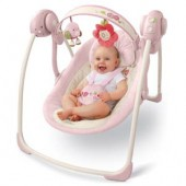 Bright Starts –6931-Comfort & Harmony™ Portable Swing, VintageGarden Fashion