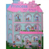 Carte copii Princess TOP - My house (roz)