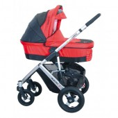 CARUCIOR 3 IN 1  AUSTIN 4 SISTEM COMPLET RED COLETTO