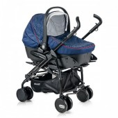 Carucior Chipolino Pooky Travel 3 in 1 indigo