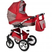 Carucior Flamingo Easy Drive 3 in 1 - Vessanti - Red