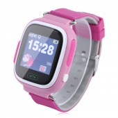 Ceas smartwatch GPS copii Wonlex GW100 Touch Roz NEW