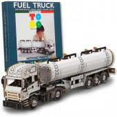 Construieste si coloreaza 3D Fuel Truck TO DO