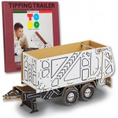 Construieste si coloreaza 3D Tipping Trailer