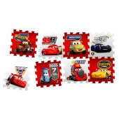 Covor camera copii puzzle din spuma DisneyCars 3 Race of a Lifetime 8 piese
