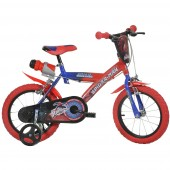 DINO BIKES Bicicleta copii 14 '' Spiderman