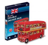 PUZZLE 3D DOUBLE DECKER BUS
