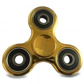 Fidget Spinner metalic look - auriu