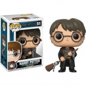 Figurina de colectie FUNKO - POP VINYL HARRY POTTER S4- HARRY POTTER W/ FIREBOLT