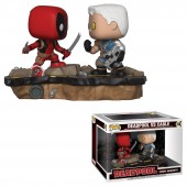 Figurina jucarie Funko MARVEL MOVIE MOMENTS DEADPOOL VS CABLE