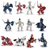 Figurina Papo - Set 12 Mini Animale Cavaleri