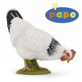 Figurina Papo -Gaina alba Pecking