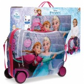 Geanta de gradinita ABS 50 cm 4 roti Disney Frozen Magic