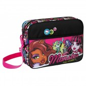 Geanta Monster High scoala All Stars 28 cm