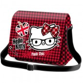 Geanta de umar pentru scoala Hello Kitty - Punk Collection