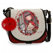 Geanta fashion umar 23 cm Gorjuss Little Red