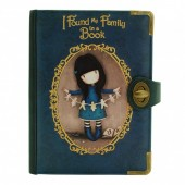 Gorjuss Chronicles Geanta cu clips - Family in a Book