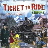 Joc Societate Days of Wonder Ticket to ride - Europa