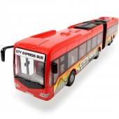 Jucarie Autobuz Dickie Toys City Express Bus rosu