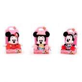 Jucarie de plus Disney Minnie Mouse I Love Minnie PREMIUM  - 25 cm