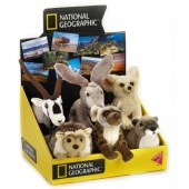 Jucarie din plus - National Geographic - Pui animal desert 15 cm