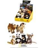 Jucarie din plus National Geographic Pui animal Asia 17cm