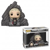 Jucarie figurina Game Of Thrones - DELUX DAENERYS ON DRAGONSTONE THRONE