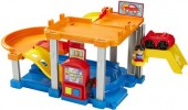 Jucarie Fisher Price Little People Rollin Ramps Garage