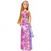 Jucarie Papusa Simba Steffi Love Flower Party 29 cm mov