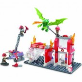 KRE-O Fire Station Dragon Attack