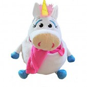 Mascota Tummy Stuffers Unicorn Alb