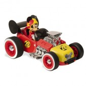 Mașinuța cu telecomandă Mickey Supercharged RC Hot Rod