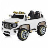 MASINUTA ELECTRICA PREMIUM SUV MERCEDES BENZ G FORCE WHITE