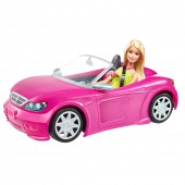 Masinuta Mattel Barbie Glam Convertible
