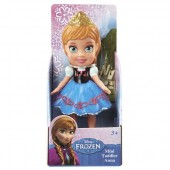 Mini Papusa Disney Frozen Anna - 8 cm