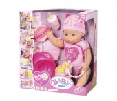 Papusa BABY born Papusa interactiva cu corp moale