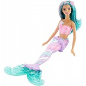 Papusa Barbie Sirena Mattel BRB Mermaid Blue