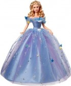 Papusa Disney Cinderella Royal Ball Princess Dress Blue