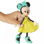 Papusa Disney Minnie Mouse cu buline pretioase