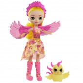 Papusa Enchantimals Falon Phoenix cu figurina Sunrise