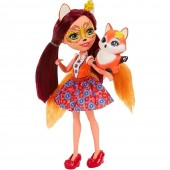 Papusa Enchantimals Felicity Fox cu figurina